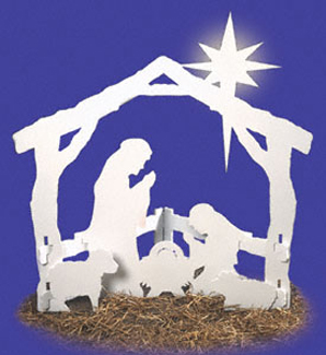 oholy night yard dcor project pattern - Religious Christmas Yard Decorations