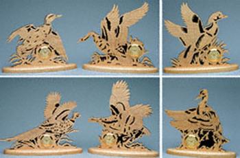 Game Birds Mini-Clocks Project Pattern