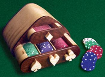 Poker Caddy Project Pattern