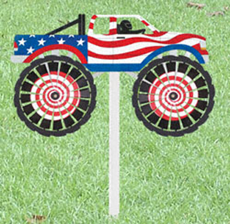 Monster Truck Whirly Wheelz Project Pattern