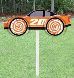 Race Car Whirly Wheelz Project Pattern