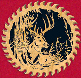 Winter Deer Circular Saw Project Pattern