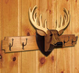All Wall Mounted Deer Rack Project Patterns