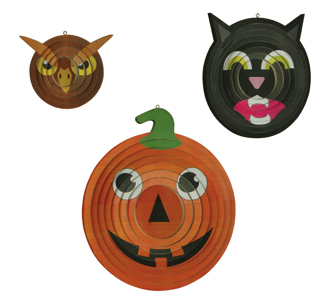 Halloween Spinner Ornaments Project Patterns