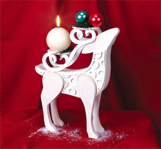 Stylish Reindeer Display Project Pattern