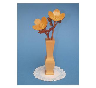 Compound Cut Buttercup Flowers & Vase Project Patterns