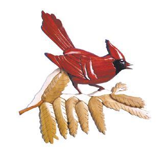 Winter Cardinal Intarsia Project Patterns