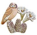 Elf Owl Intarsia Project Pattern