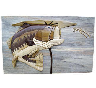 Leap of Faith/Largemouth Bass Intarsia Project Patterns