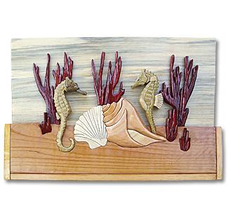 Sea Horses Intarsia Project Pattern
