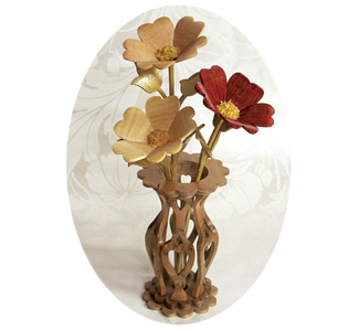 Compound Cut Vase of Valentines Project Patterns
