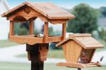Bird Feeders Woodcraft Pattern
