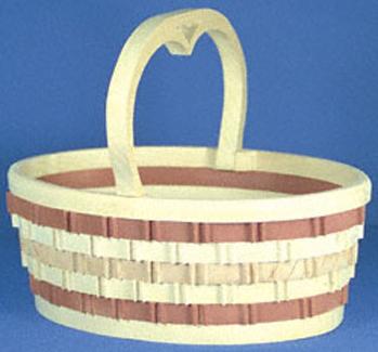 Oval Basket Design Project Pattern