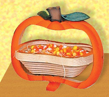 Collapsible Pumpkin Basket/Trivet Project Pattern