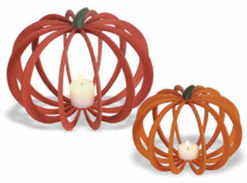 Set of 2 Decorative Pumpkins Project Patterns