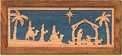 Wall Nativity Pattern