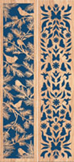Cardinal/Butterfly Inserts for Toilet Tissue Cabinet Project Pattern