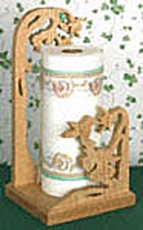 Hummingbird Paper Towel Holder Project Pattern