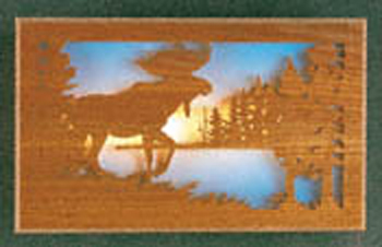 Scenic Moose Light Project Pattern