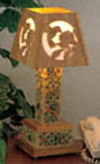 Wildlife Decorative Lamp Project Pattern
