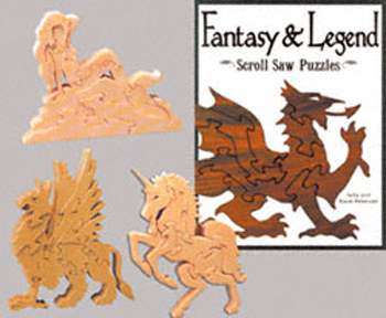 Scroll Saw Puzzle Patterns Book