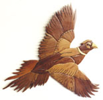 Pheasant Intarsia Project Pattern