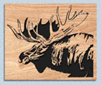 Moose Scroll Saw Pattern