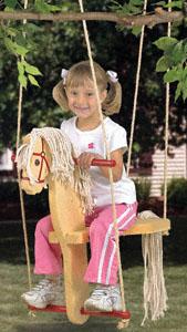 All Horse Swing Woodcraft Pattern