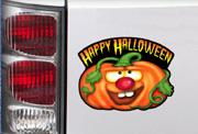Jack-O-Lantern Car Magnet
