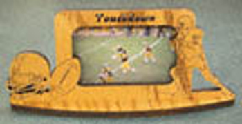 Football Picture Frame Project Pattern