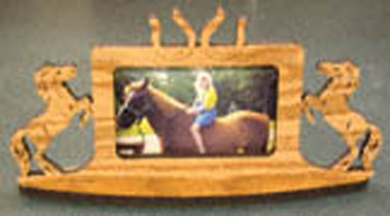 Horse (Shoe) Picture Frame Project Pattern