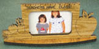 Teachers Have Class Picture Frame Project Pattern
