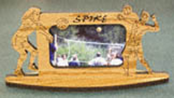 Volleyball Picture Frame Project Pattern