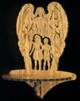Angelic Shelf Project Pattern