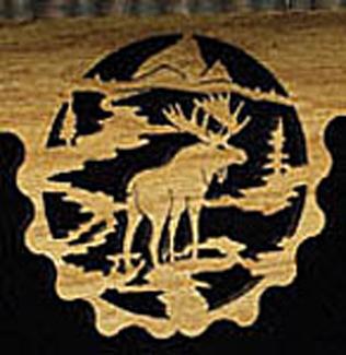 Moose Territory Shelf  Project Pattern