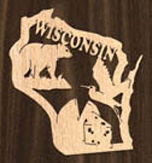 Wisconsin Ornament Project Pattern