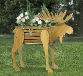 Moose Planter Woodcraft Pattern