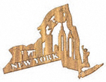 New York Plaque Project Pattern