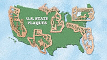 All 50 United States Plaque Project Patterns