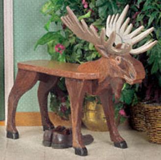 Moose Bench Woodcraft Pattern
