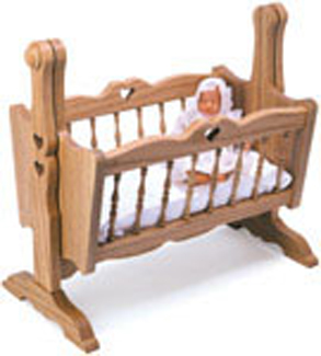 Doll Houses Amp Playsets Doll Cradle Woodcraft Pattern
