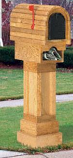 Cedar Mailbox Woodcraft Pattern