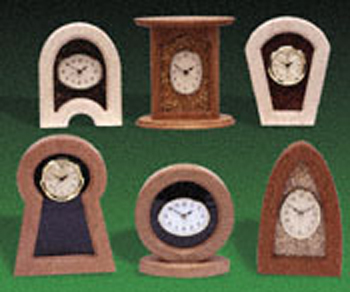 Deco-Fill Designer Clocks  #1 Project Patterns