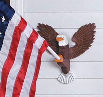Eagle Flag Holder Woodcraft Pattern