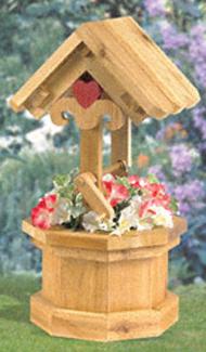 Garden Wishing Well Woodcraft Pattern
