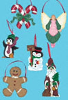 Christmas Ornaments #2 Woodcraft Patterns