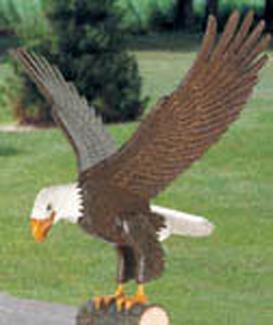 Majestic Eagle Woodcraft Pattern