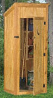Outdoor Storage Shed Woodcraft Pattern