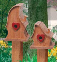 Luv Shack Birdhouse Woodcraft Pattern
