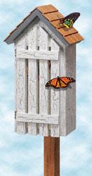 Butterfly Haven Woodcraft Pattern